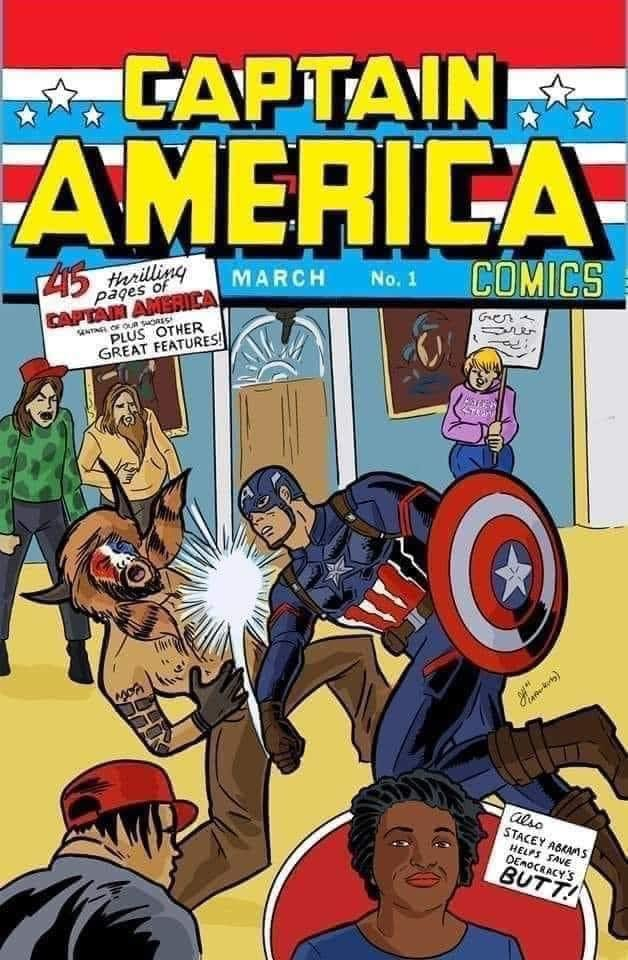 Captain America punches the QAnon Shaman.jpg