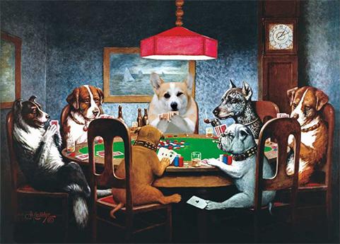 Cool Corgi Playing Poker With Dogs.jpg