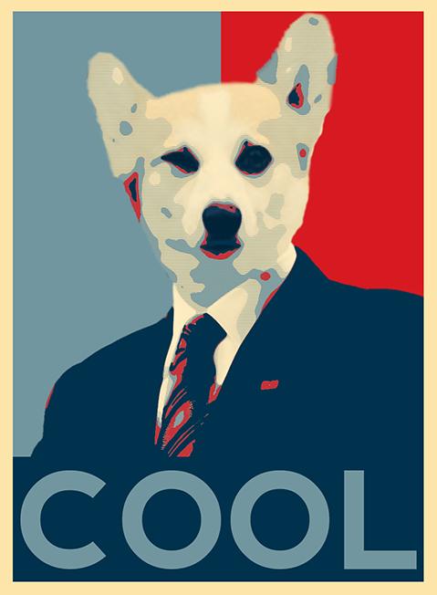 Cool Corgi President Poster.jpg