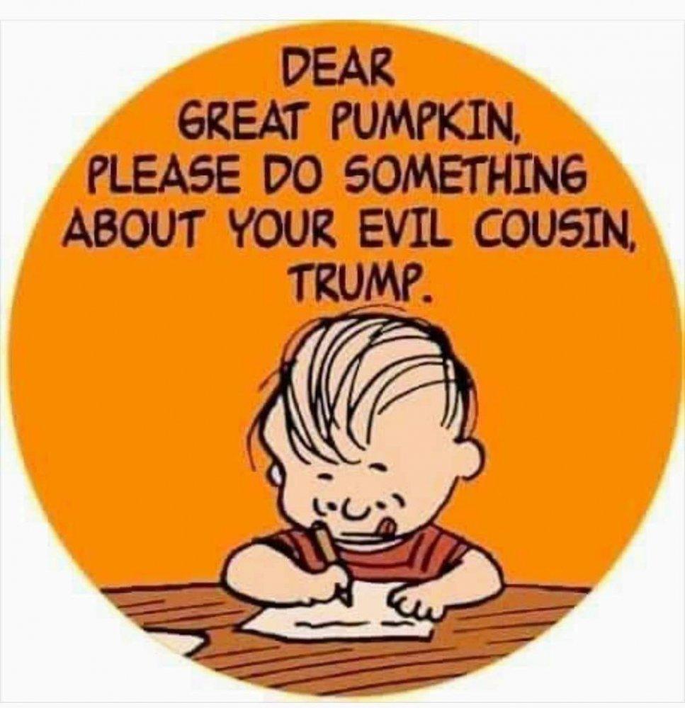 Great Pumpkin has an evil cousin.jpg
