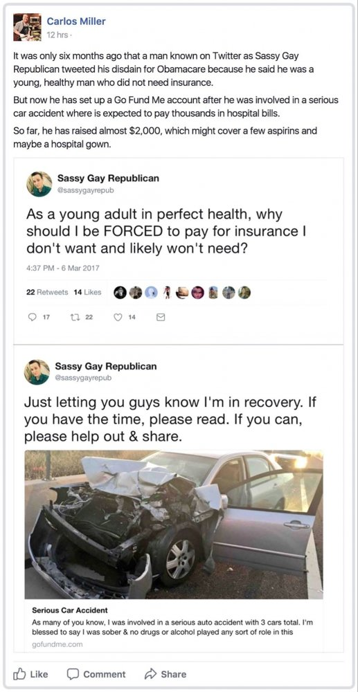 Republicans are idiots for thinking they dont need health care.jpg