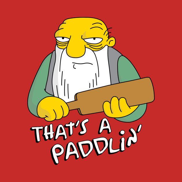 That's a paddlin.jpg
